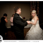 Bride and Groom Funny Dance - Ottawa Wedding Photographer